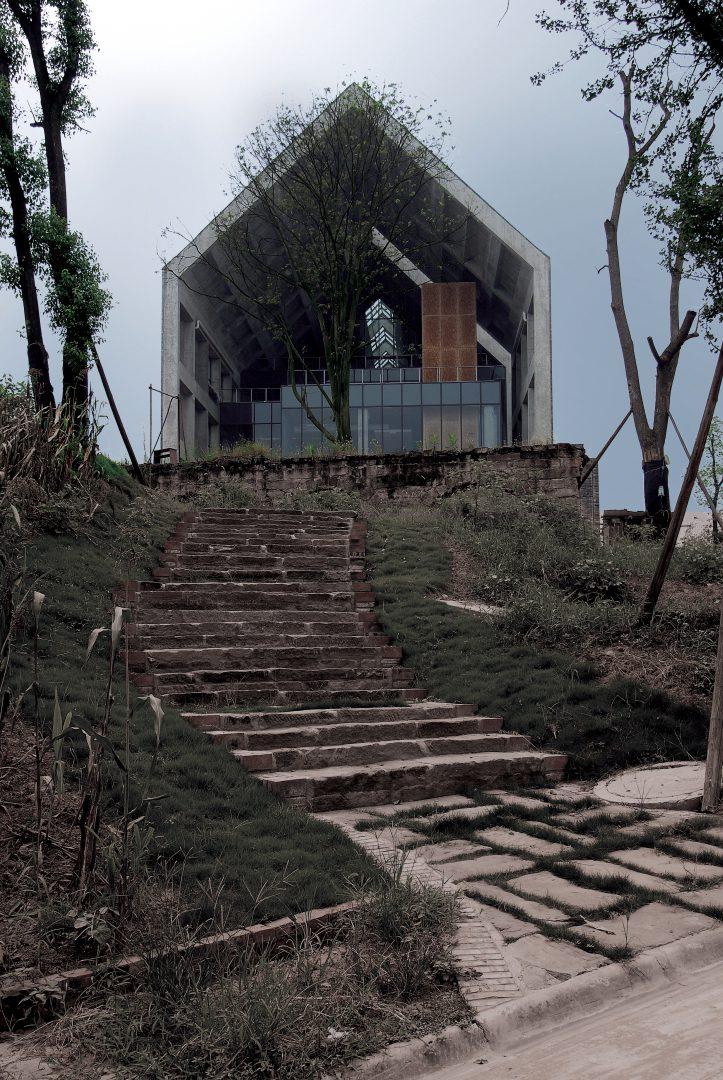 四川美术学院虎溪校区图书馆 汤桦建筑设计事务所
