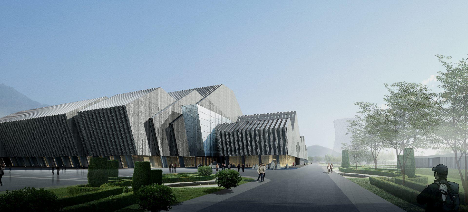 办公室_重庆市第三垃圾焚烧发电厂 – 汤桦建筑设计事务所