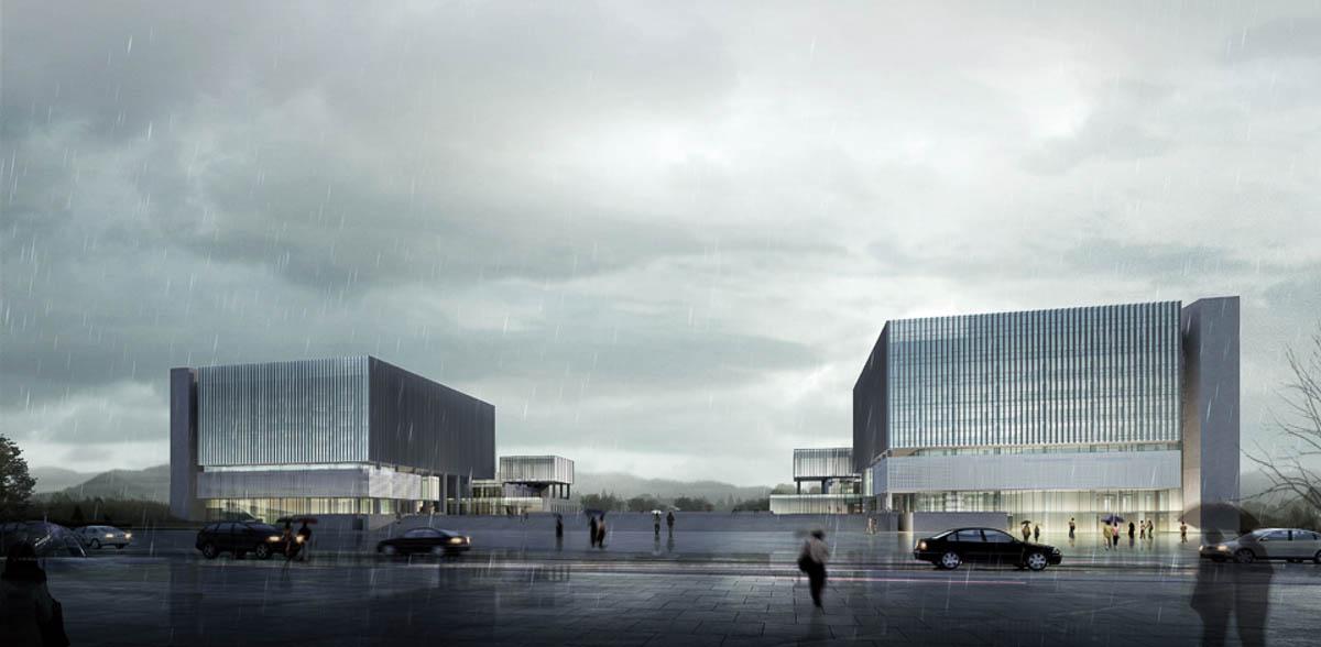 重庆璧山绿岛新区行政中心